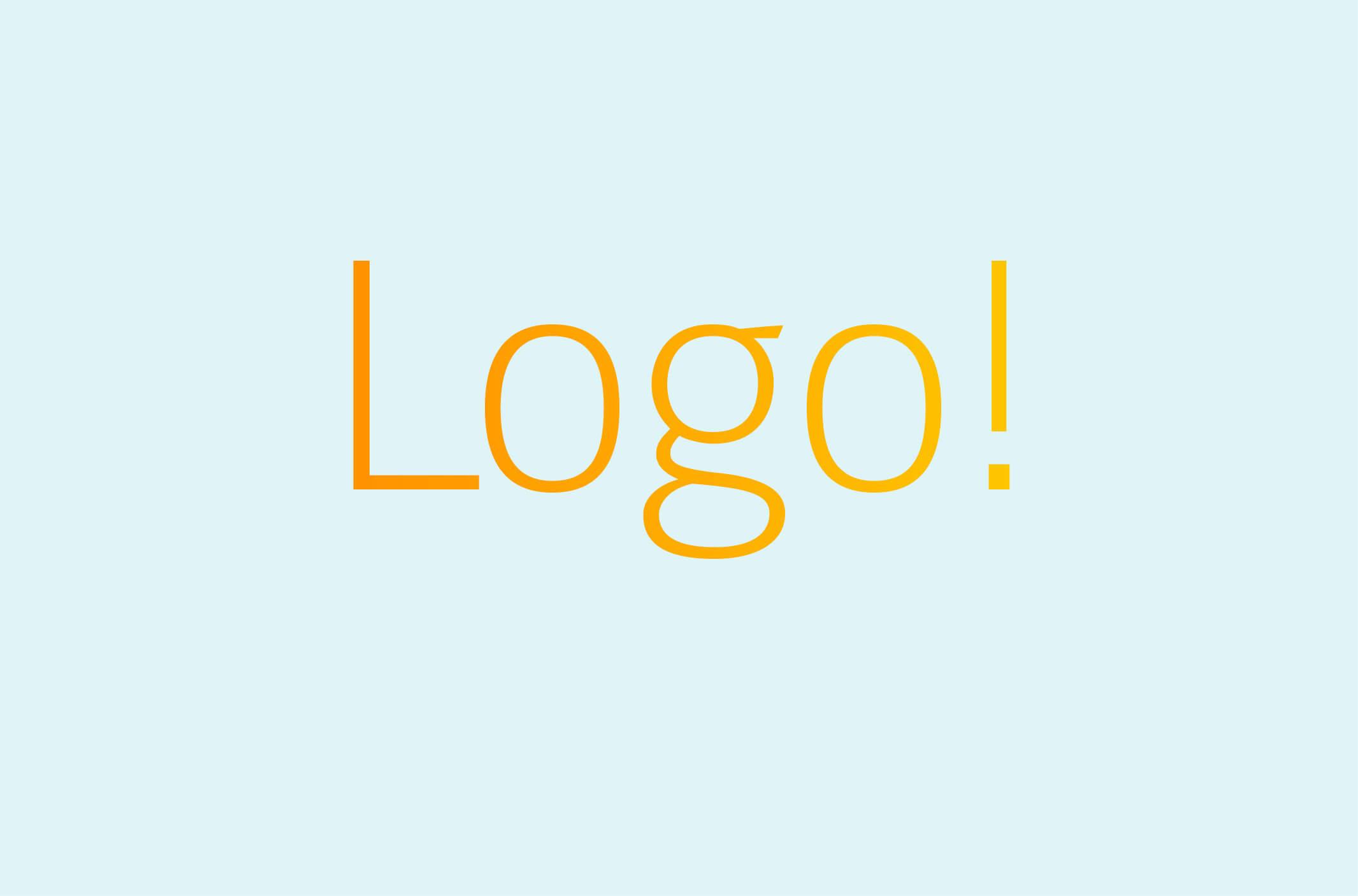 Schriftzug Logo! – Fotografie & Grafikdesign
