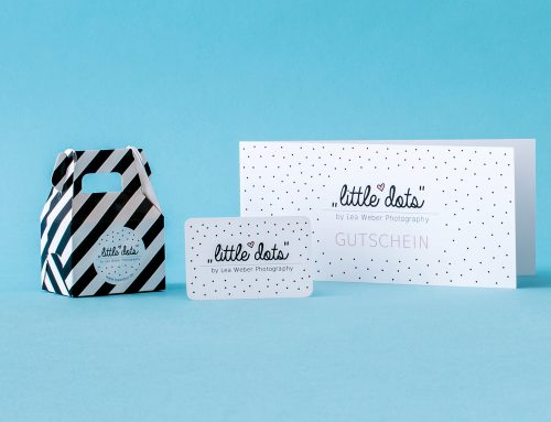 Grafik-Projekt: Corporate Design little dots Photography
