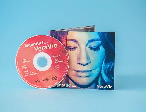 CD-Booklet für die Musikerin VeraVie