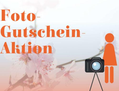 Foto-Gutschein-Aktion im Frühjahr 2020
