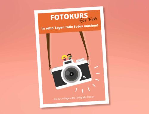 """eBook """"Fotokurs für Kids – die Grundlagen der Fotografie lernen"""""""