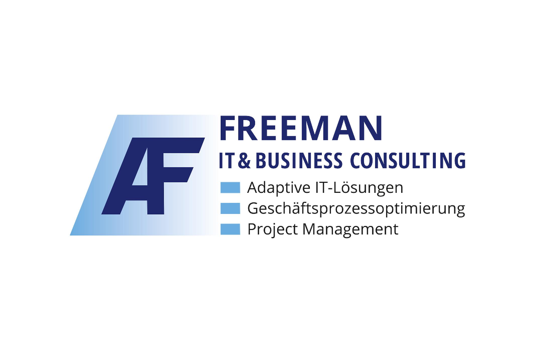 Logo Freeman IT & Business Consulting – Fotografie & Grafikdesign