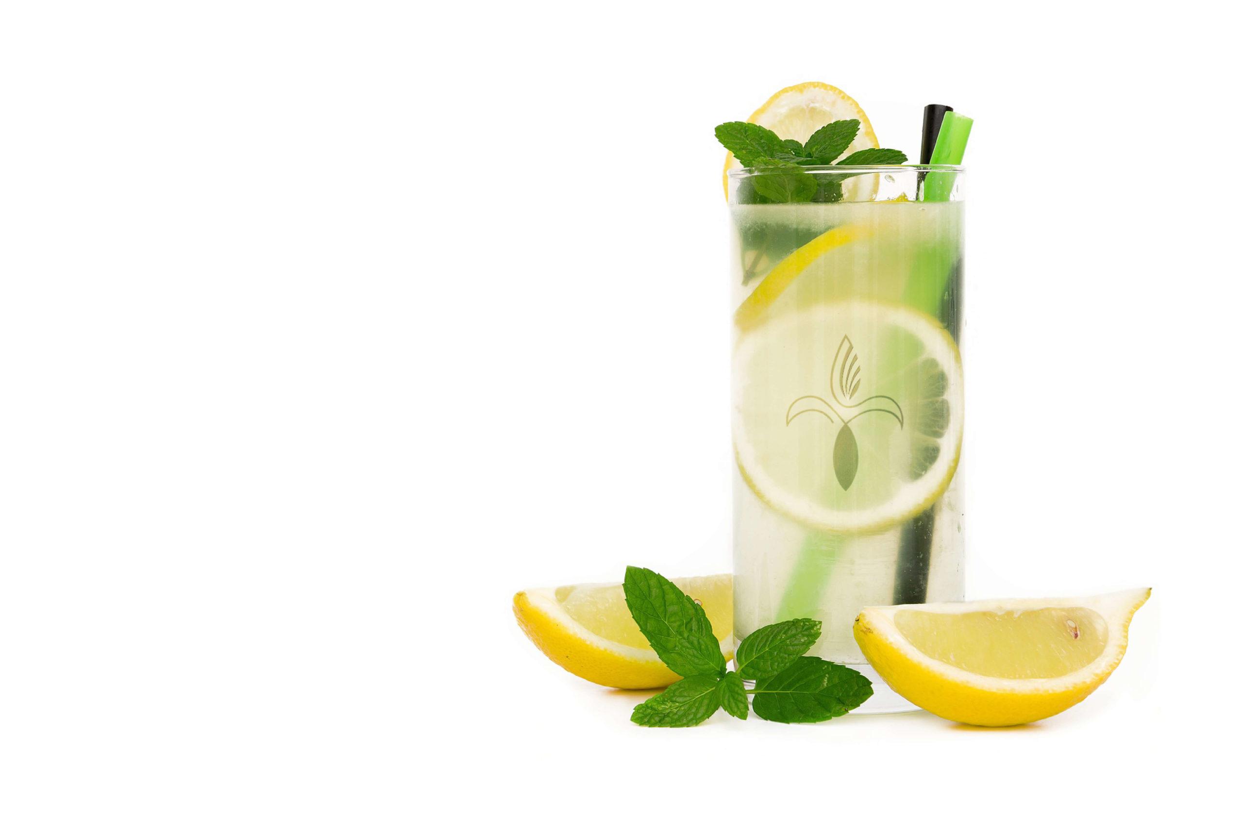 leckere, erfrischende Zitronenlimonade