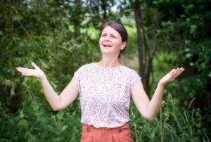 Susanne happy