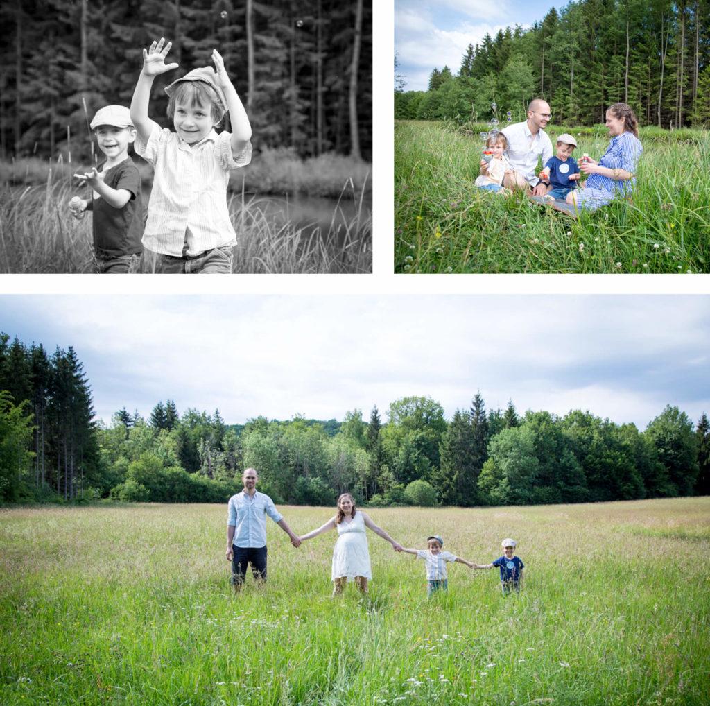 Familien-Picknick – Familien-Fotoshooting