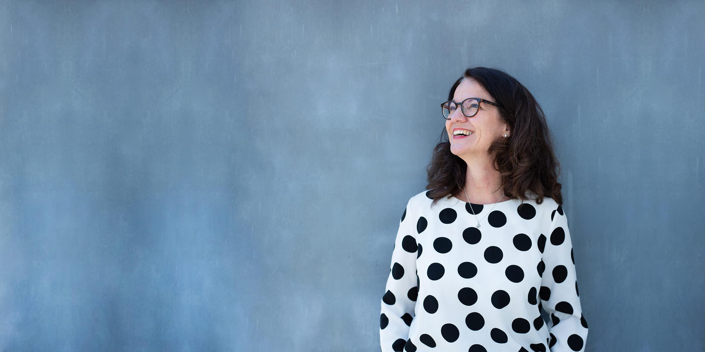 lächelnde Frau – Portraitshooting