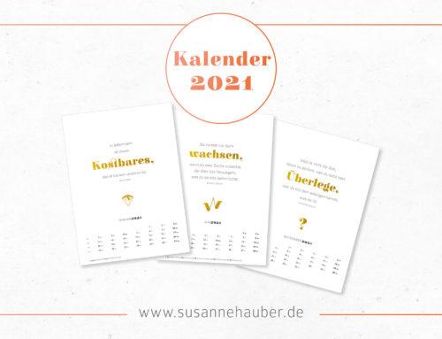 Kalender 2021 – Printable in DIN A4 zum Selberdrucken