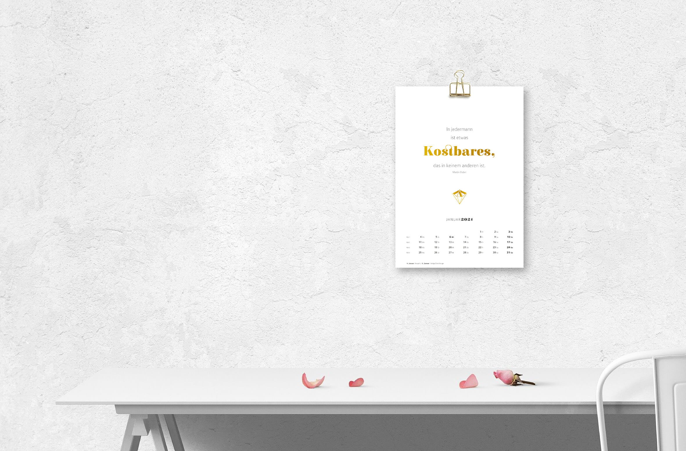Kalender 2021 - Printable DIN A4 zum Ausdrucken